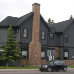 Stucco Siding and Stucco Painting completed on new home in Calgary