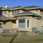 Whole home stucco painted