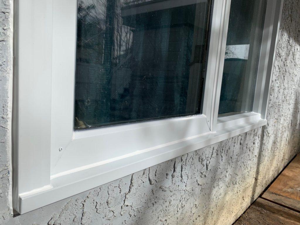 Aluminium frame capping