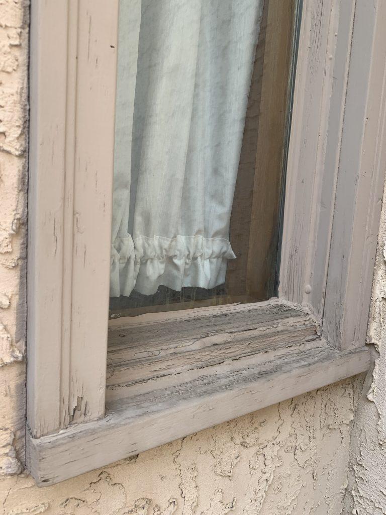 Vinyl or aluminum window cap installation